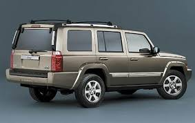 2007 jeep commander information and photos zombiedrive