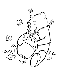 winnie pooh coloring 10 print color free