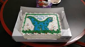 dinosaur cake pulled from costco because someone said it was