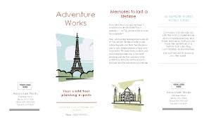 brochure template microsoft word best tri fold brochure templates