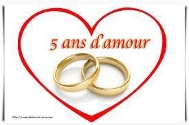 souhaiter joyeux mariage vœux anniversaire de mariage 5 ans texte carte invitation
