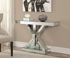 glass mirrored console table glass silver console table console table super fashionable