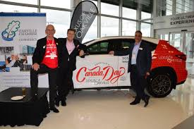 lexus canada sponsorship oakville u0027s 150 canada day kick off u0026 you can still take part