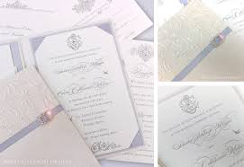 ritz carlton wedding invitations luxury wedding invitations los