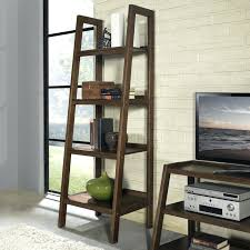 Leaning Bookcase Walmart Shelves Shelves Ideas Ladder Bookshelf Walmart Library Ladder