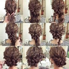 homecoming hair braids instructions bello cabello rizado pinteres