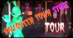 spirit halloween sherman halloween town store tour youtube