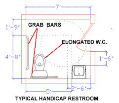 Ada Bathroom Code Requirements Handicap Toilet Design Singapore Wheelchair Accessible