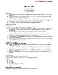 Nurse Resume Objective Nurse Objective Resume Resume Peppapp