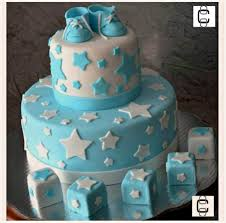 baby shower fondant cake baby boy cake with shoes and stars