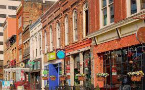 Knoxville Zip Code Map The Oliver Hotel A Boutique Hotel In Downtown Knoxville Tn