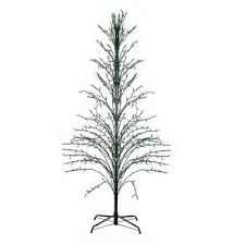 buy pre lit outdoor trees from bed bath beyond