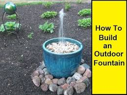 How To Make An Outdoor Bathroom Best 25 Outdoor Water Features Ideas On Pinterest Outdoor Water