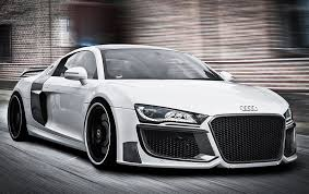 audi r 8 audi r8 kit front rear bumper side skirts bodykit coupe