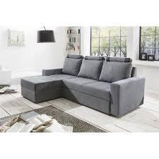 acheter canapé d angle convertible canapé d angle convertible modulable tissu gris achat vente