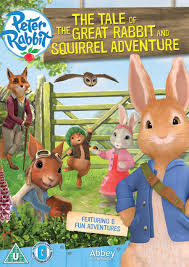 the tales of rabbit rabbit the tale of the great rabbit squirrel adventure