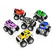 amazon small toys monster pullback trucks pack 12