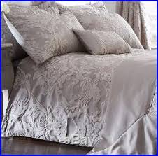 Jacquard Bedding Sets Antique Silver Luxury Woven Jacquard Quilt Duvet Cover Sets