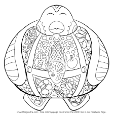 explore cute penguins kids coloring pages and more baby penguin