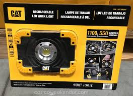 cat rechargeable led work light costco weekender