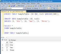 sql server create table syntax how to insert multiple rows in a single sql query interview