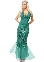 Mermaid Halloween Costumes Sea Siren Costume Details Adults Halloween Costume