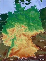 Hamburg Germany Map by Germany Topographic Map 2006