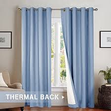 84 Inch Curtains Bedroom Room Darkening Curtains Energy Saving Lined