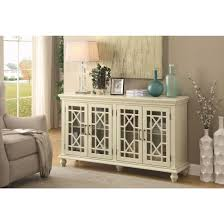 Accent Cabinets Coaster 950638 Accent Cabinet In Antique White