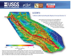 United States Fault Lines Map by Multi Fault Ruptures Can Unleash Stronger California Earthquakes