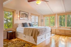 beach style beds seattle vintage beds bedroom beach style with windows traditional