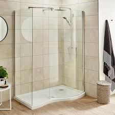 Curved Shower Doors Curved Shower Enclosures Drench In Curved Shower Tray And Screen