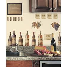 wine 56 wall decor tasting peel stick wall decals 3d removable