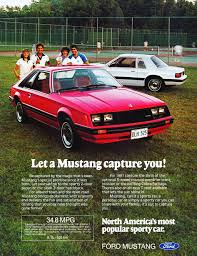 ford mustang ad 1981 ford mustang ad cars today