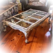 antique white distressed coffee table 5 farmhouse coffee table antique white w copper undertones