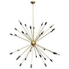 18 Light Starburst Chandelier Lamp Sputnik Chandelier For Inspiring Contemporary Interior
