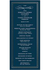 memorial program sles 25 ceremony program ideas you ll ideas and wedding