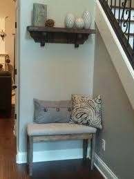 Decorating Narrow Entryway Bench Awesome 15 Diy Entryway Projects Decorating Your Small Space