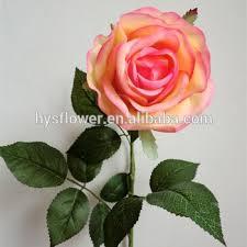 Artificial Flowers Cheap Cheap Real Touch Big Coral Peach Rose Artificial Flower Cheap
