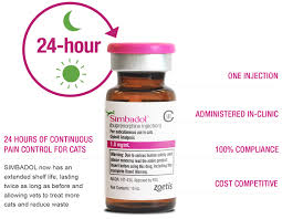 simbadol 24 hour postoperative pain relief u0026 control for cats