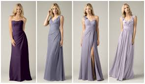 wedding trend ombre bridal party