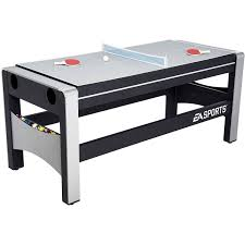 Table Basketball Ea Sports 72 Inch 4 In 1 Swivel Combo Table 4 Games With Hockey
