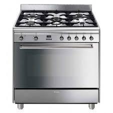 piano cuisine gaz piano de cuisson 90cm dessus gaz inox smeg ga91ctx achat vente
