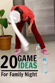 20 family ideas playtivities
