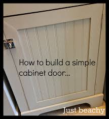 diy tutorial how to build simple shaker style cabinet doors new
