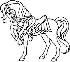 Coloriage de mandala chevaux a imprimer  Bondless
