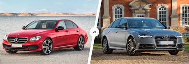 audi s6 vs mercedes e class vs audi a6 comparison carwow