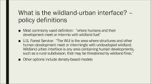 Wildfire Scientific Definition by A Four Step Approach To Planning For Wildfire In The Wildland