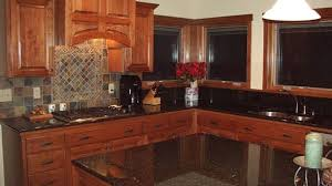 Cherry Wood Kitchen Cabinets With Black Granite Cherry Wood Kitchen Cabinets Photos Best 25 Ideas On Pinterest