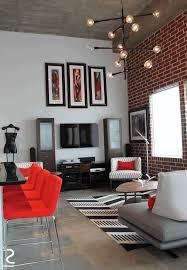 Brick Wall Living Room Circular White Lace Rug Pure White Cloth